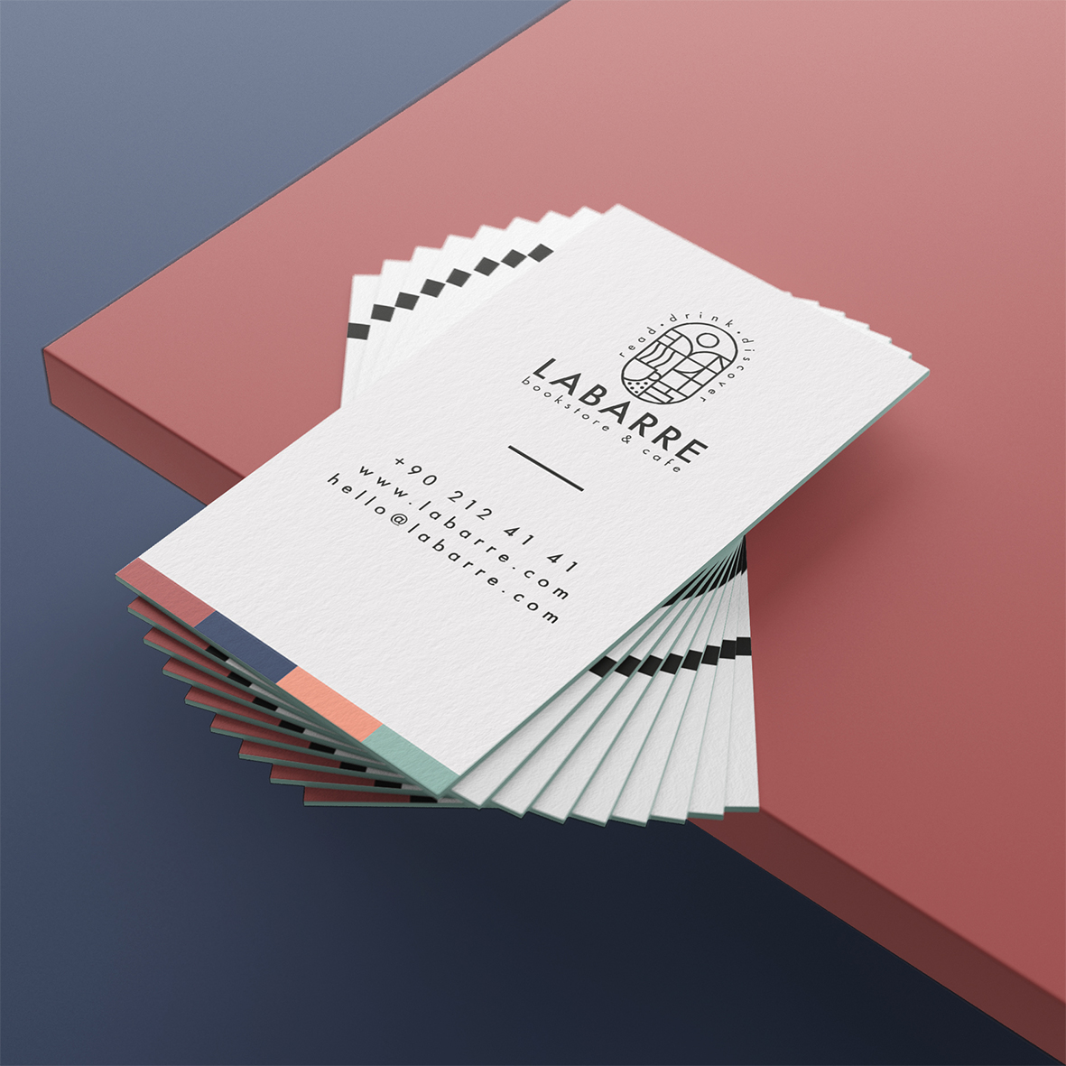 labarre_bookstore_cafe_identity_business_card