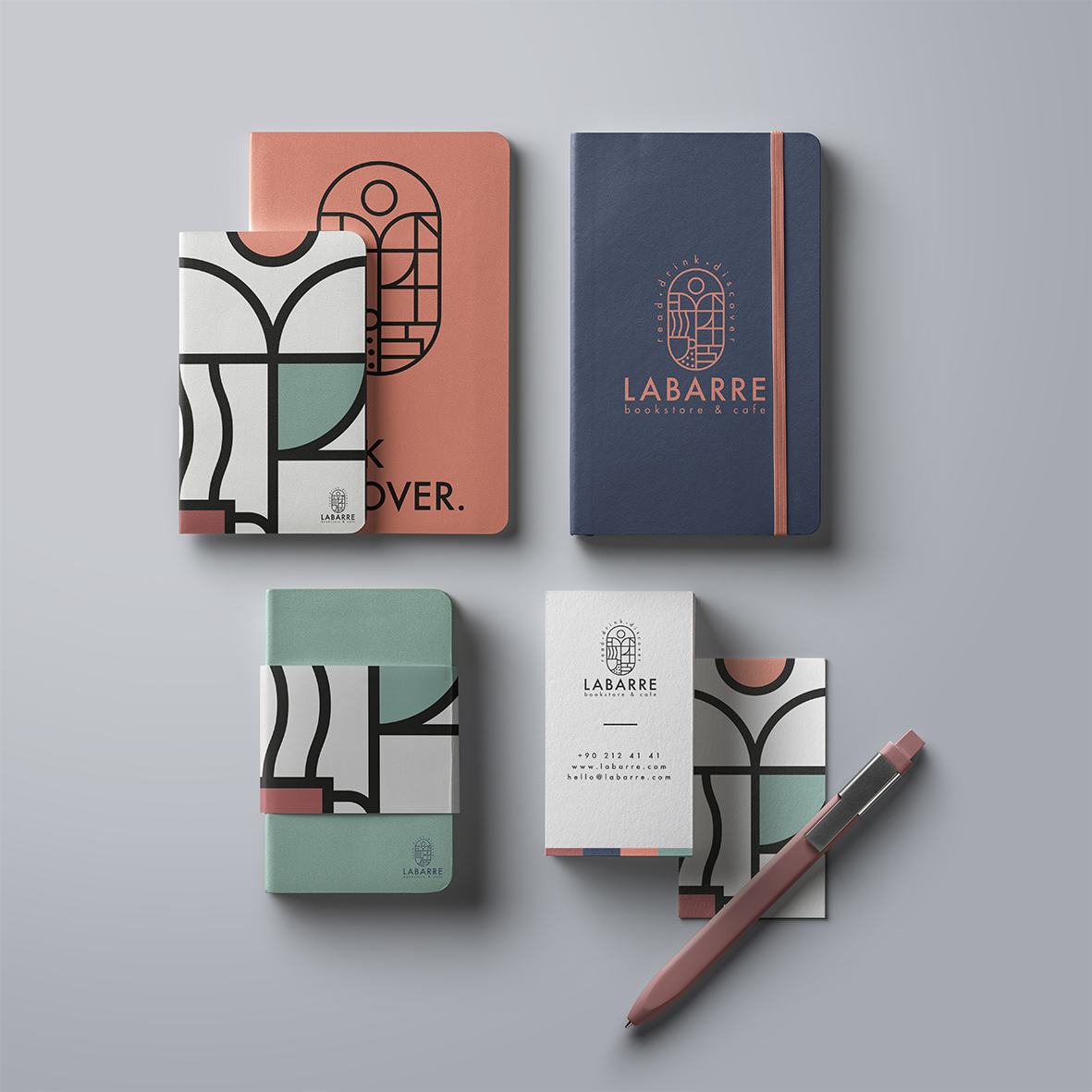 labarre_bookstore_cafe_identity_note_notebook_package
